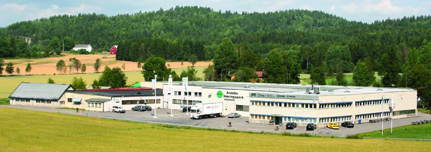 Andebu Næringspark, Norway